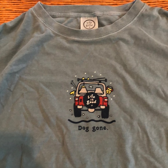 b33d4aa17 Life Is Good Other - Life is Good dog gone shirt SZ XXL
